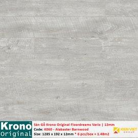Sàn gỗ Krono Floordreams Vario K060 Alabaster Barnwood | 12mm