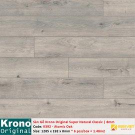 Sàn gỗ Krono Super Natural Classic K392 Atomic Oak | 8mm