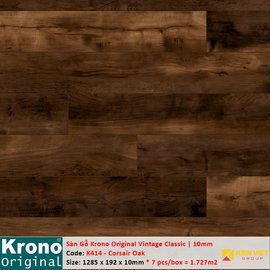 Sàn gỗ Krono Vintage Classic K414 Corsair Oak | 10mm