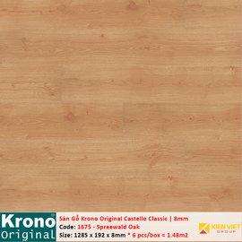 Sàn gỗ Krono Castello Classic 1675 Spreewald Oak | 8mm