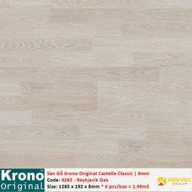 Sàn gỗ Krono Castello Classic 4282 Reykjavik Oak | 8mm