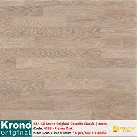 Sàn gỗ Krono Castello Classic 4283 Flaxen Oak | 8mm