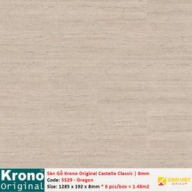 Sàn gỗ Krono Castello Classic 5529 Oregon | 8mm