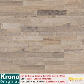 Sàn gỗ Krono Castello Classic 5958 Cabana Driftwood | 8mm