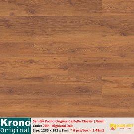 Sàn gỗ Krono Castello Classic 709 Highland Oak | 8mm