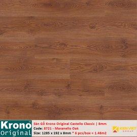 Sàn gỗ Krono Castello Classic 8721 Maranello Oak | 8mm
