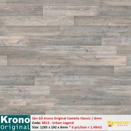 Sàn gỗ Krono Castello Classic 8812 Urban Legend | 8mm