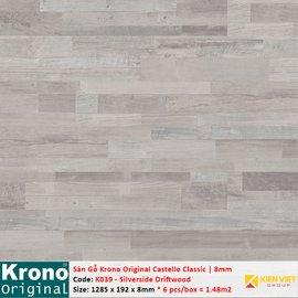 Sàn gỗ Krono Castello Classic K039 Silverside Driftwood | 8mm