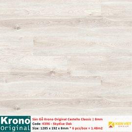 Sàn gỗ Krono Castello Classic K396 Skydive Oak | 8mm