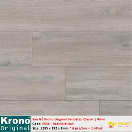 Sàn gỗ Krono Variostep Classic 5946 Rockford Oak | 8mm