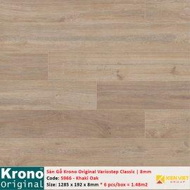 Sàn gỗ Krono Variostep Classic 5966 Khaki Oak | 8mm