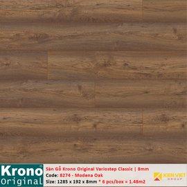 Sàn gỗ Krono Variostep Classic 8274 Modena Oak   8mm