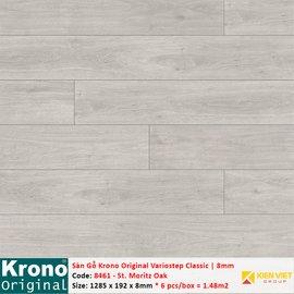 Sàn gỗ Krono Variostep Classic 8461 St. Moritz Oak   8mm
