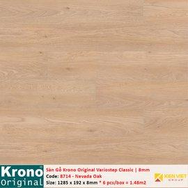 Sàn gỗ Krono Variostep Classic 8714 Nevada Oak | 8mm