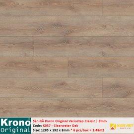 Sàn gỗ Krono Variostep Classic K057 Clearwater Oak | 8mm