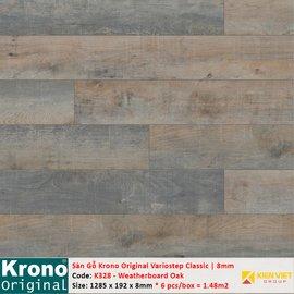 Sàn gỗ Krono Variostep Classic K328 Weatherboard Oak | 8mm