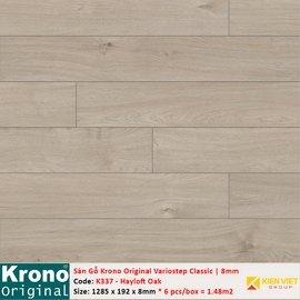 Sàn gỗ Krono Variostep Classic K337 Hayloft Oak | 8mm