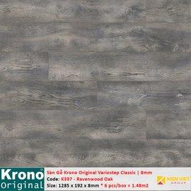 Sàn gỗ Krono Variostep Classic K397 Ravenwood Oak | 8mm