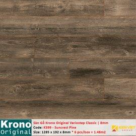 Sàn gỗ Krono Variostep Classic K399 Suncrest Pine | 8mm
