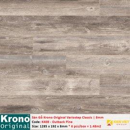 Sàn gỗ Krono Variostep Classic K408 Outback Pine | 8mm