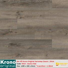 Sàn gỗ Krono Variostep Classic K415 Aeolus Oak | 8mm