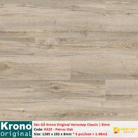 Sàn gỗ Krono Variostep Classic K420 Petros Oak | 8mm