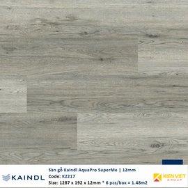 Sàn gỗ công nghiệp Kaindl AquaPro SuperMe K2217 | 12mm