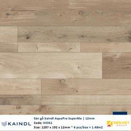 Sàn gỗ công nghiệp Kaindl AquaPro SuperMe K4361 | 12mm