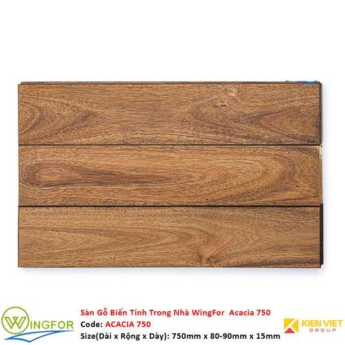 Sàn gỗ biến tính trong nhà Keo Acacia 750