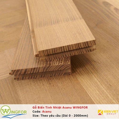 Ốp tường gỗ biến tính Keo