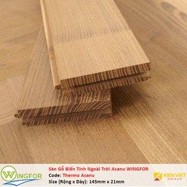 Sàn gỗ biến tính ngoài trời Keo