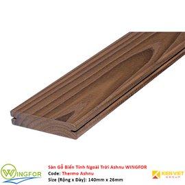 Sàn gỗ biến tính ngoài trời Tần Bì