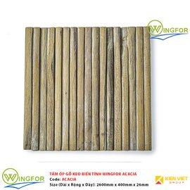 Tấm ốp cung tròn gỗ keo biến tính WingFor