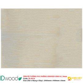 Tấm ốp tường PVC phẳng vân gỗ ID Wood ID 8016