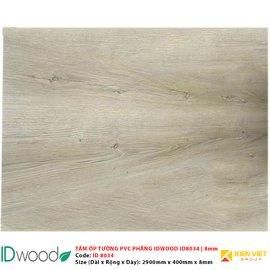 Tấm ốp tường PVC phẳng vân gỗ ID Wood ID 8034