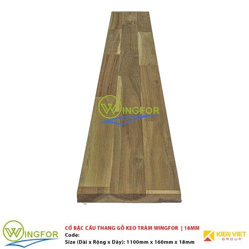 Cổ bậc cầu thang gỗ keo tràm biến tính WingFor | 18mm