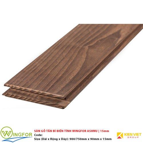 Sàn gỗ tần bì biến tính Wingfor Ashnu | 15mm