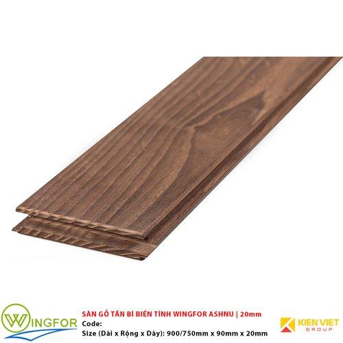 Sàn gỗ tần bì biến tính Wingfor Ashnu | 20mm