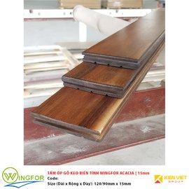 Tấm ốp gỗ keo biến tính WingFor ACACIA | 15mm