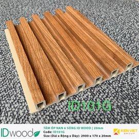 Tấm ốp nan 6 sóng ID Wood ID 101G | 20mm