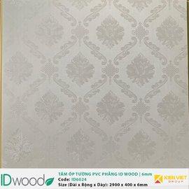 Tấm ốp tường PVC phẳng vân gỗ ID Wood ID 6024 | 6mm