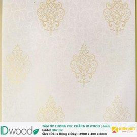 Tấm ốp tường PVC phẳng vân gỗ ID Wood ID 6132 | 6mm