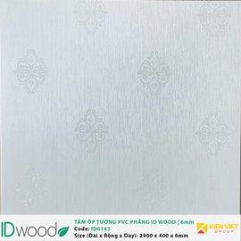 Tấm ốp tường PVC phẳng vân gỗ ID Wood ID 6145 | 6mm