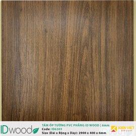 Tấm ốp tường PVC phẳng vân gỗ ID Wood ID 6301 | 6mm