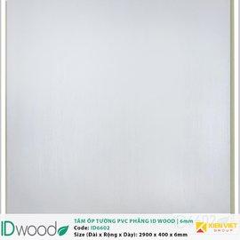 Tấm ốp tường PVC phẳng vân gỗ ID Wood ID 6602 | 6mm