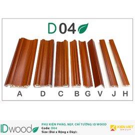 Phụ kiện tấm ốp IDWood D04