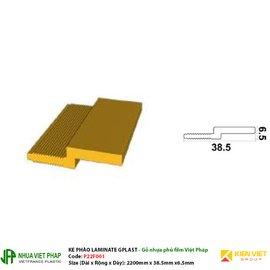 Ke phào Laminate Gplast phủ phim Việt Pháp Gplast P22F001 38.5x6.5mm