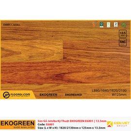 Sàn gỗ kỹ thuật Ekogreen E6801 Jatoba | 13.5mm