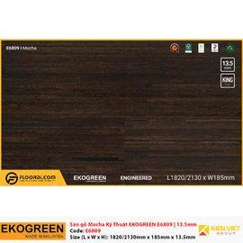 Sàn gỗ Ekofine Mocha kỹ thuật Ekogreen E6809 | 13.5mm