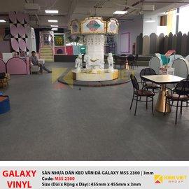 Sàn nhựa dán keo Galaxy vân đá MSS 2300| 3mm